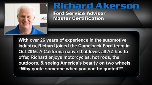 Richard  Akerson - Service Advisor