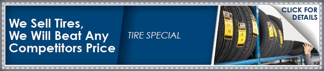 Tires Coupon, Phoenix
