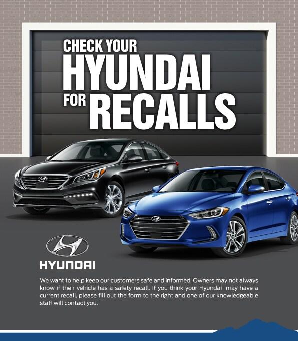 Hyundai For Recalls Recalled Hyundai Vehicles Phoenix Az