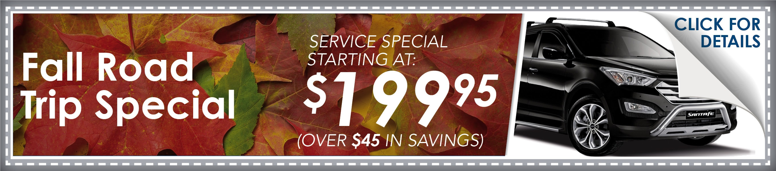 Fall Special Coupon, Phoenix