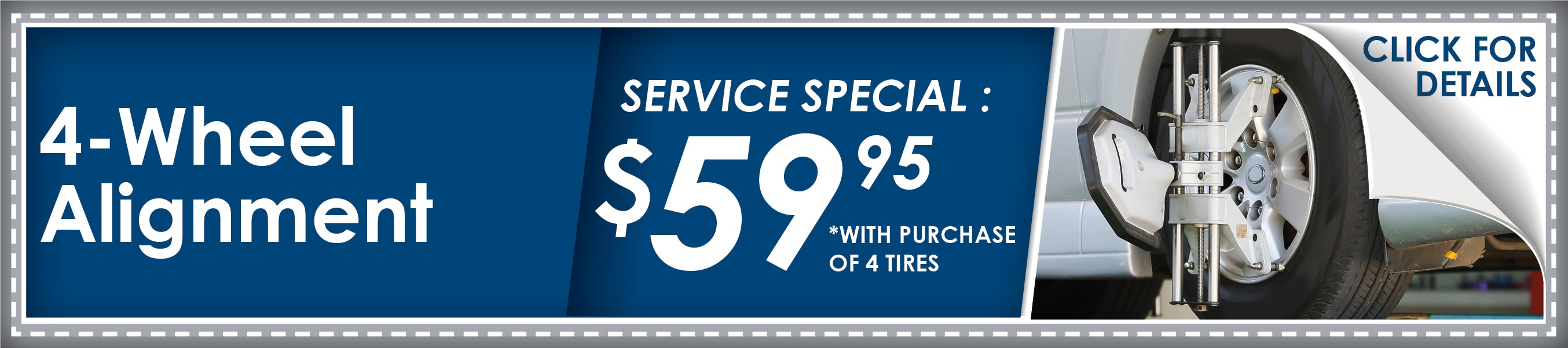 4 Wheel Alignment Coupon, Phoenix