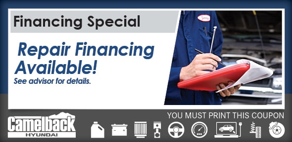 Repair Financing Special Service Coupon, Phoenix Automotive Service Special