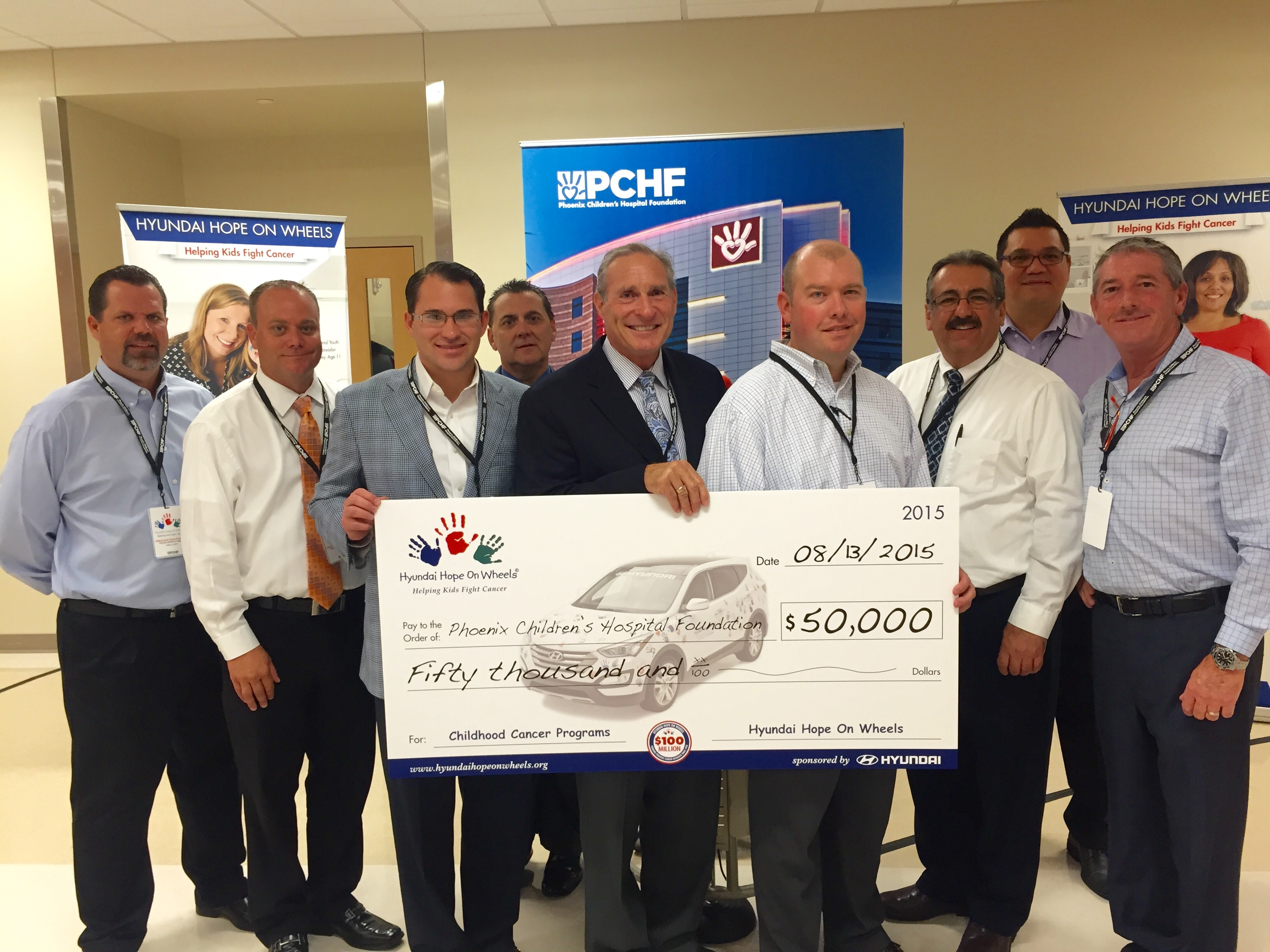 Camelback Hyundai Helps Raise 50k For Phoenix Children S