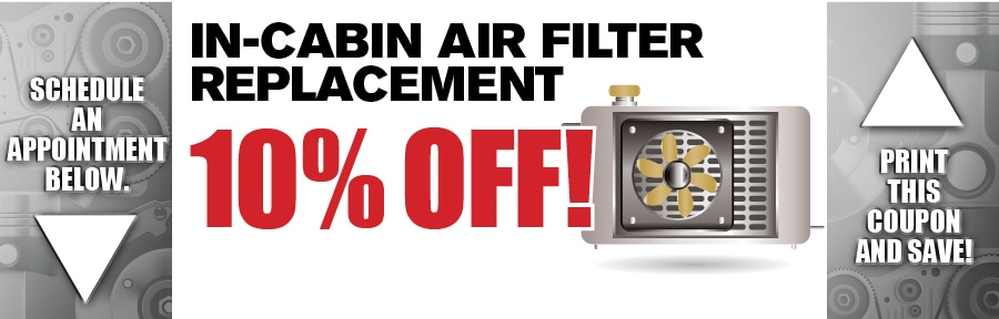 Cabin Air Filter Replacement Car Service Kia Service Offer