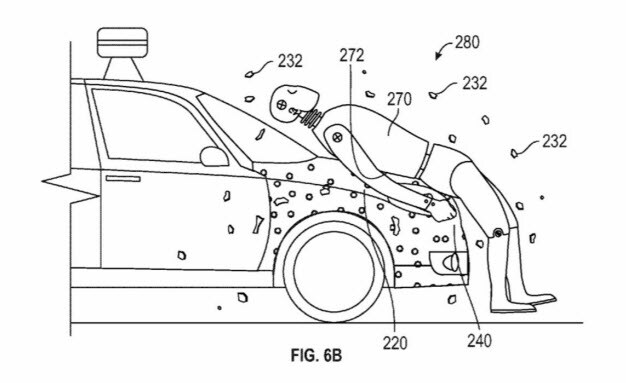 Pedestrian Impact Glue Is The Latest Patent From Google