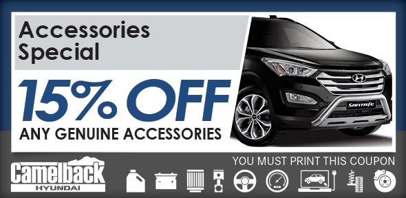 Accessories Special Service Coupon, Phoenix Automotive Service Special