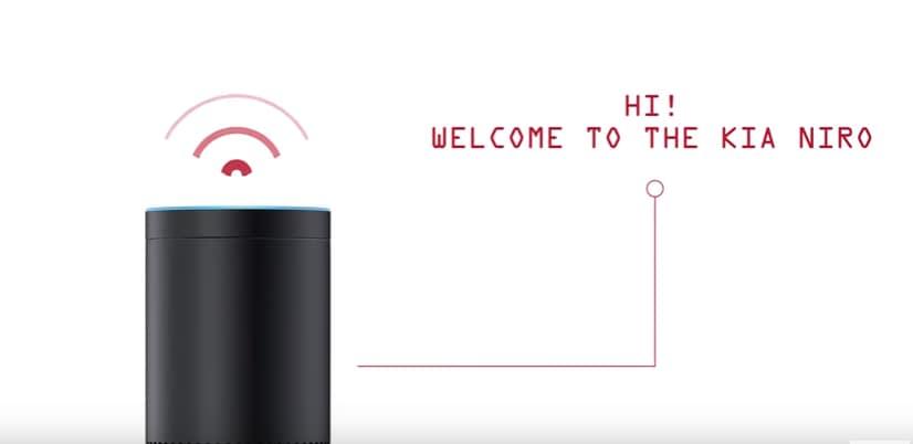 Kia Niro Amazon Alexa