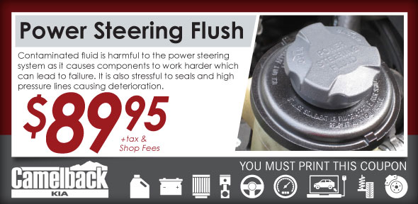 Power Steering Flush Phoenix Auto Service Coupon