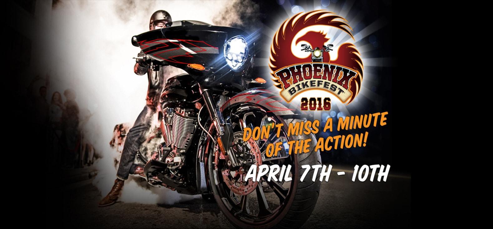 Phoenix Bikefest Is Back In The Valley April 7