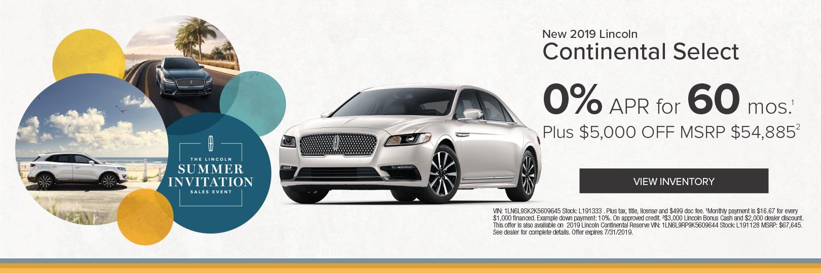 Used Cars Phoenix >> Lincoln Dealer New Used Cars Phoenix Az