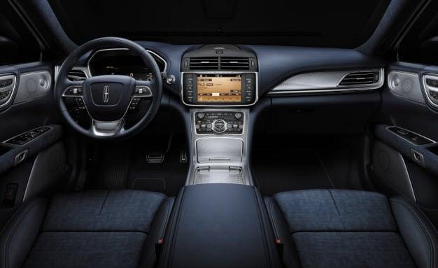 Rhapsody Black Label Theme Interior - 2017 Lincoln Continental