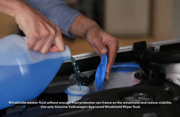 How to Add Washer Fluid to Car