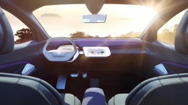 VW I.D. CROZZ cockpit