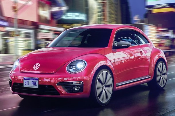 vw pink beetle review features  specs