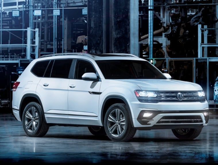 2018 Volkswagen Atlas with R-Line Package