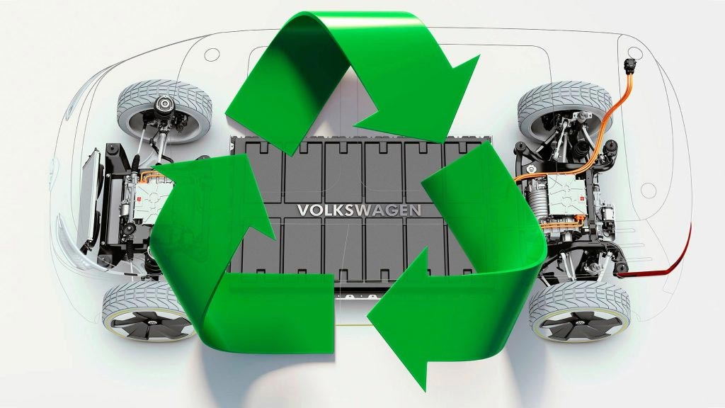 Volksagen Plans to Recycle EV Batteries