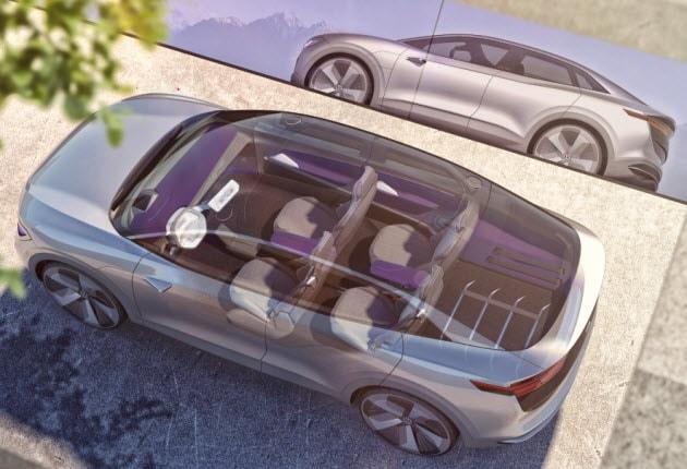 Volkswagen I.D. CROZZ roof