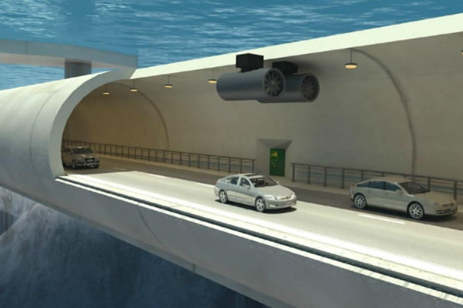 Norway Looks to Massive Underwater Tunnel Project to Help Solve