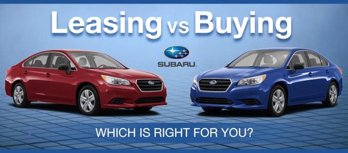 Financing Buy Vs Lease Lease Subaru In Phoenix Near