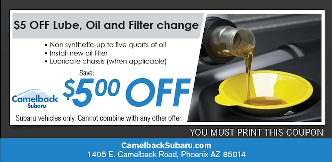 Oil Change Specials Amp Coupons Phoenix Service Offers Online