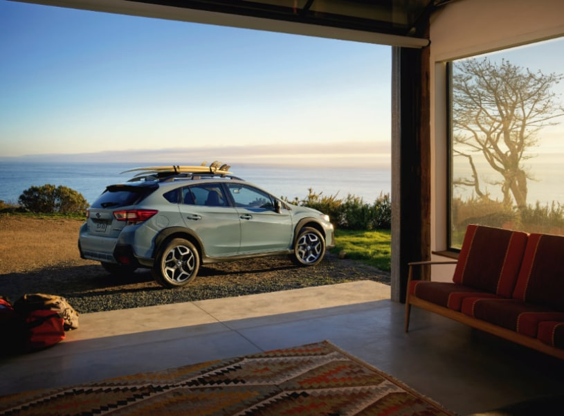 2018 Subaru Crosstrek side view