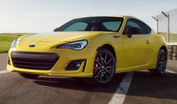 2017 Subaru Brz Series Yellow Special Edition Phoenix