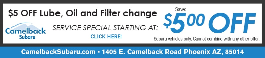 Lube-Oil-Filter Change Coupon, Phoenix