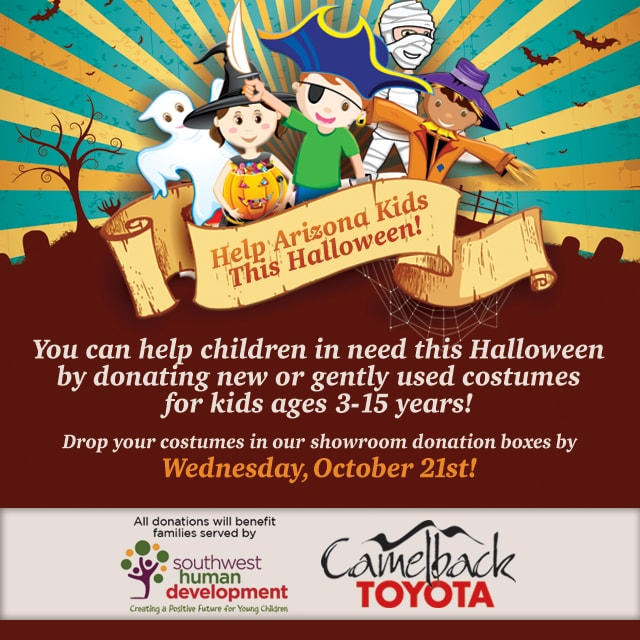Help Arizona Kids This Halloween Camelback Toyota