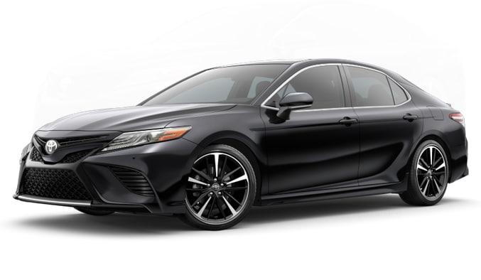 Black 2018 Toyota Camry XSE