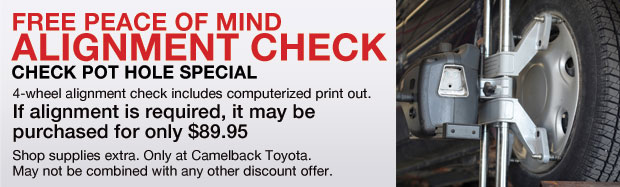 Toyota Auto Repair Toyota Service Information Near Scottsdale Az