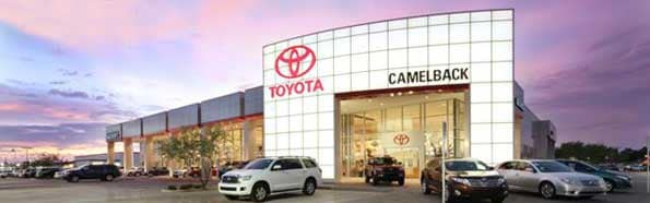 New Amp Used Toyota Dealer In Phoenix Camelback Toyota