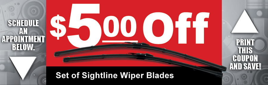 Windshield Wipers Camelback Toyota Service Coupon Phoenix Az