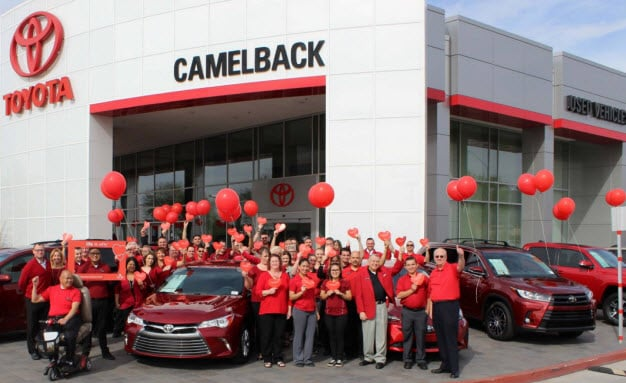 American Heart Month at Camelback Toyota