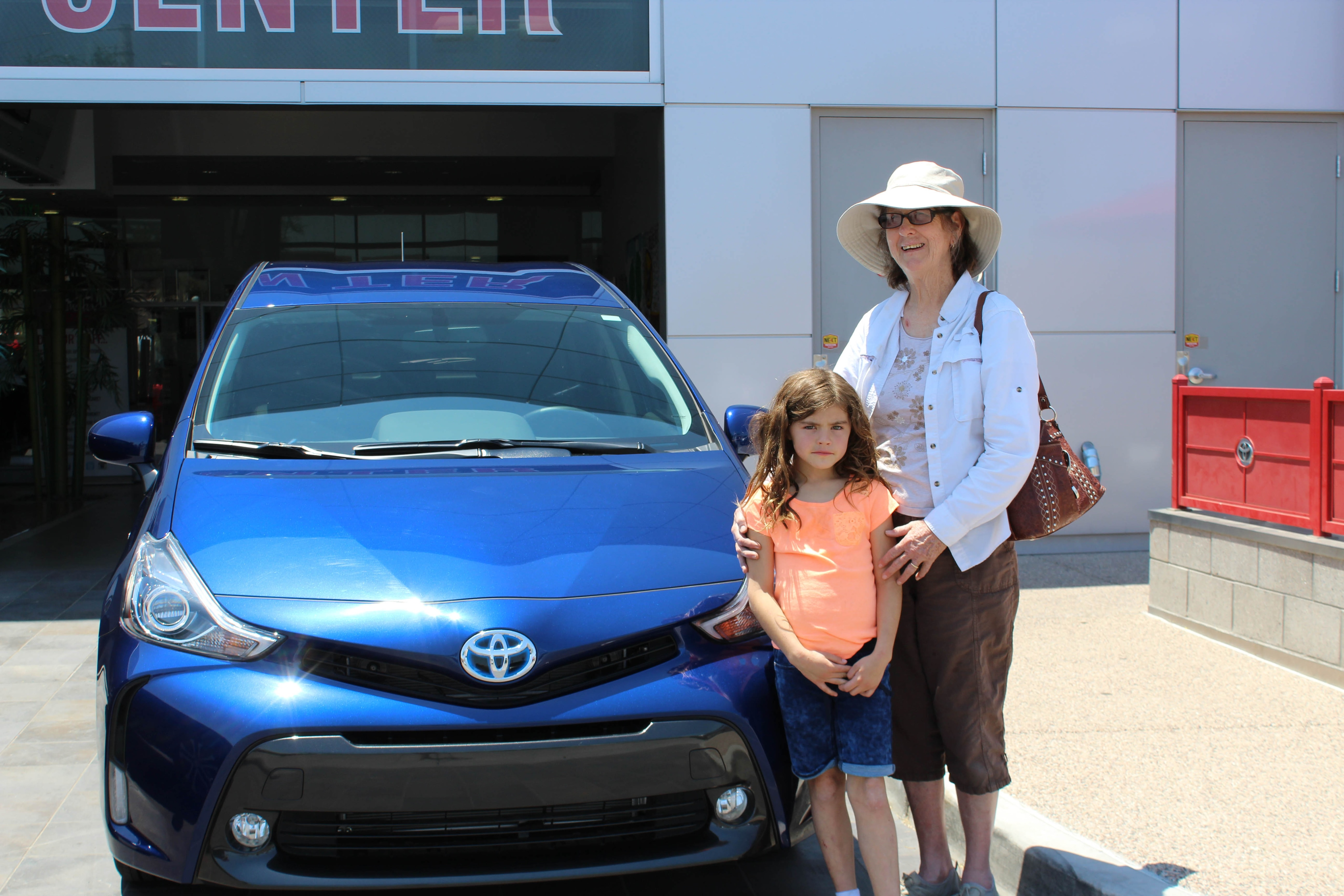 Happy Clients Celebrate Their New Cars Camelback Toyota