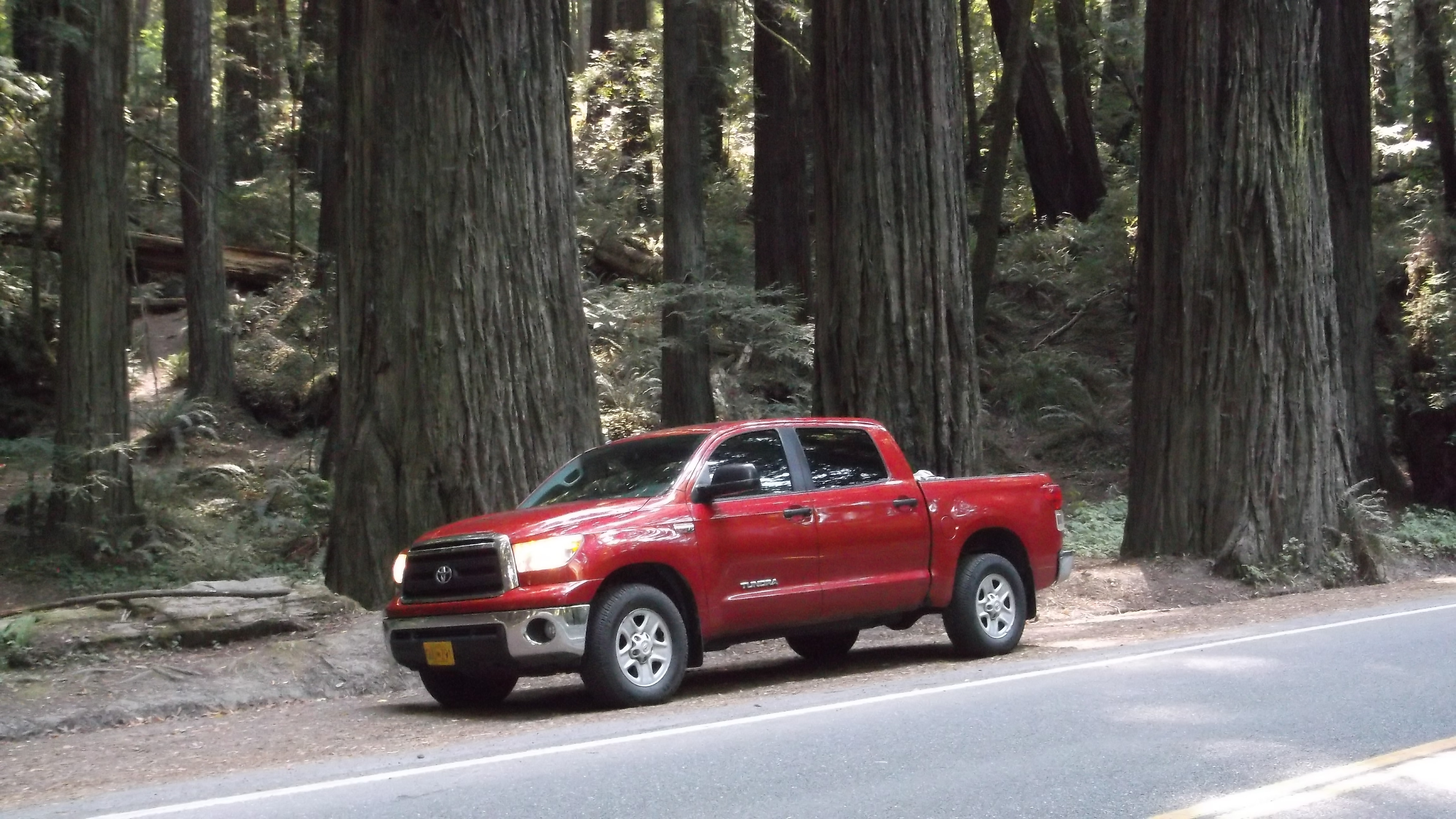 Happy Client Takes Their Toyota Tundra On A Road Trip