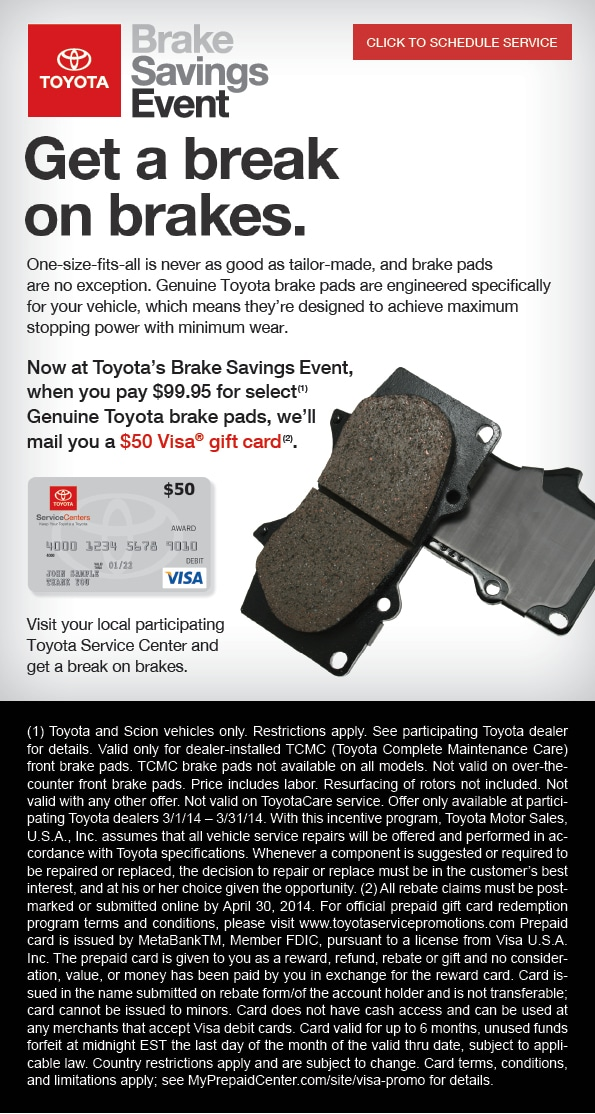Toyota Service Special