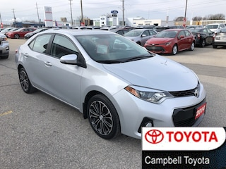 2014 Toyota Corolla S--SPORT ALLOY WHEELS--HEATED LEATHER--MOON ROOF Sedan