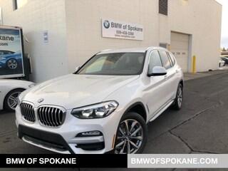 New 2019 BMW X3 xDrive30i SAV Spokane, WA
