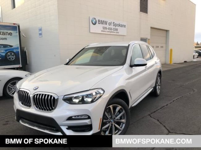 New 2019 BMW X3 xDrive30i SAV Spokane, WA