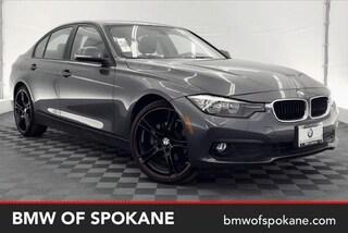 Certified Pre-Owned 2017 BMW 320i xDrive Sedan Spokane, WA