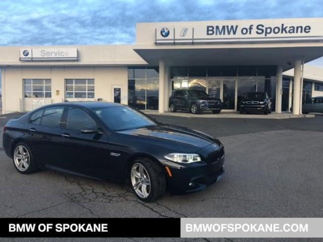 Certified Pre-Owned 2015 BMW 550i xDrive Sedan Spokane, WA