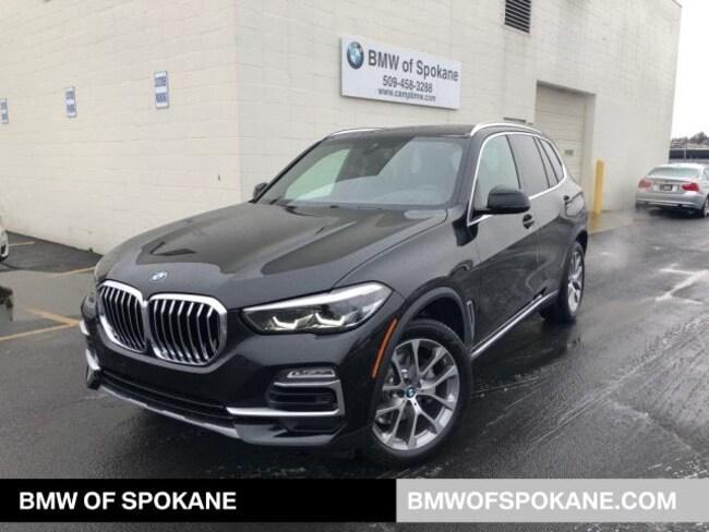 New 2019 BMW X5 xDrive40i SAV Spokane, WA