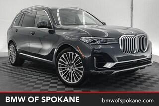 New 2019 BMW X7 xDrive50i SUV Spokane, WA