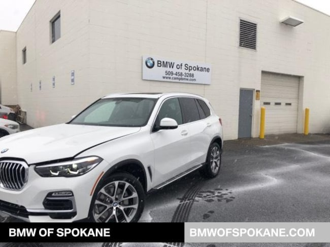 New 2019 BMW X5 xDrive40i SAV Spokane, WA