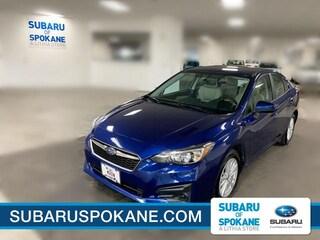 Certified Pre-Owned 2018 Subaru Impreza 2.0i Premium 4-Door CVT Car Spokane, WA