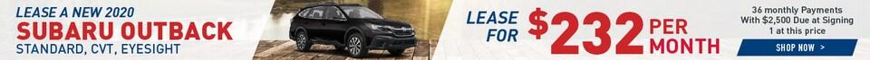 Lease A New 2020 Subaru Outback
