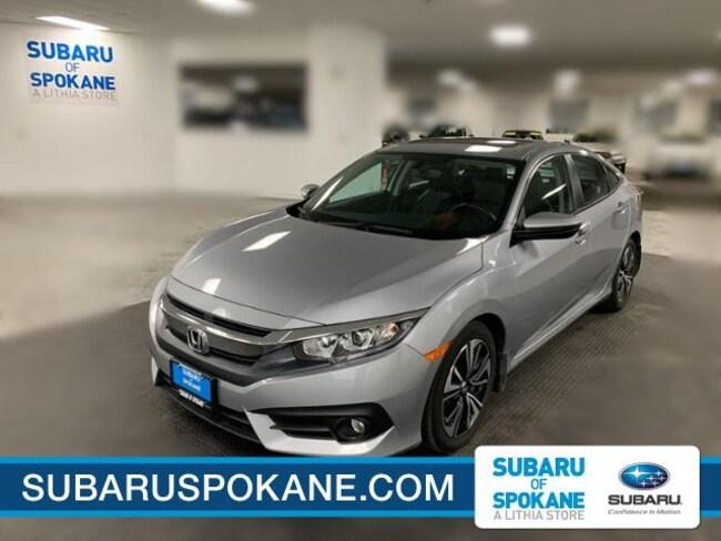 Used 2017 Honda Civic EX-L CVT Car Spokane, WA