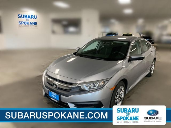 Used 2016 Honda Civic 4dr CVT LX Car Spokane, WA