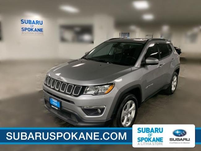 Used 2018 Jeep Compass Latitude 4x4 Sport Utility Spokane, WA
