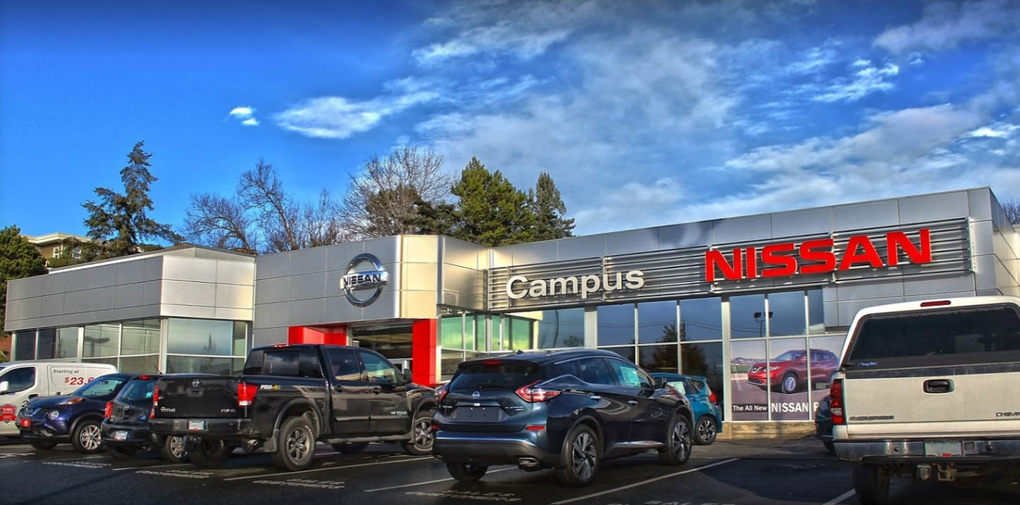Campus Nissan in Victoria, BC - Nissan Dealership